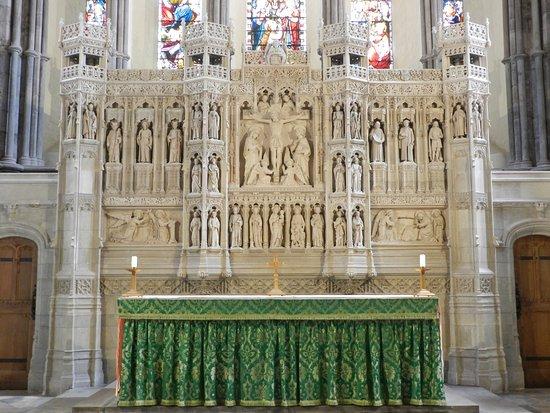 Brecon, UK: Altar