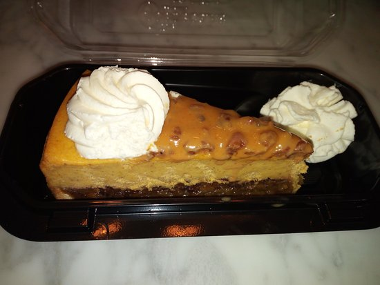 The Ultimate Pumpkin Pecan Cheesecake Picture Of The Cheesecake Factory Wauwatosa Tripadvisor