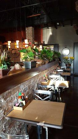 Marble Falls, Teksas: Seating in bar