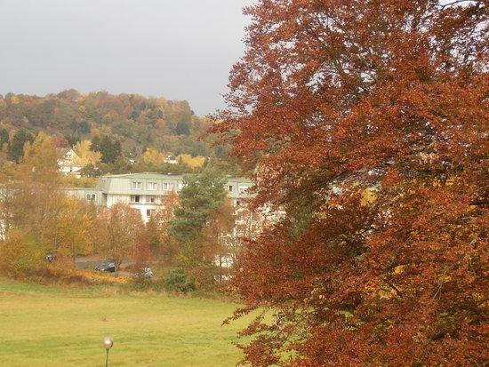 Hotel Orbtal: Aussicht vom Balkon