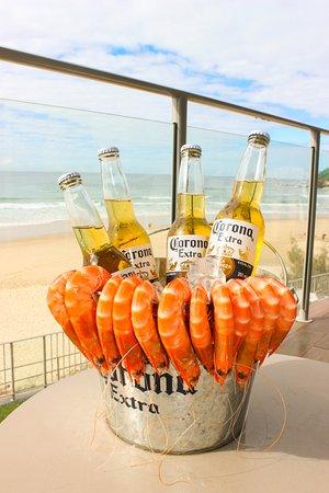 Coolum Beach, Australia: No better combo!