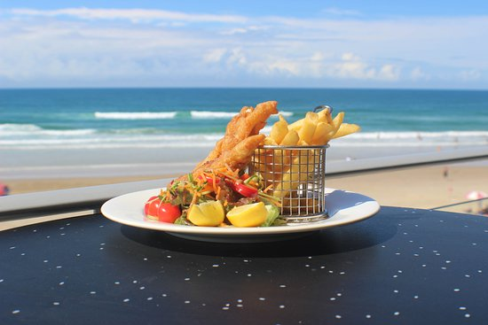 Coolum Beach, Australia: Delicious Fish and Chips