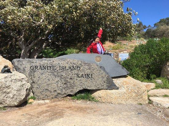 Victor Harbor, Australia: at granite island