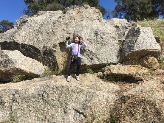 Victor Harbor, Australia: The granite rocks