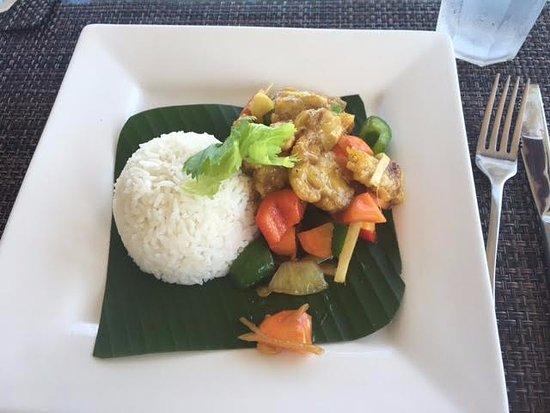 Savasi Island Villas: Every meal was delicious