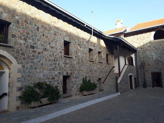 Pedoulas, Chipre: Внутренний двор