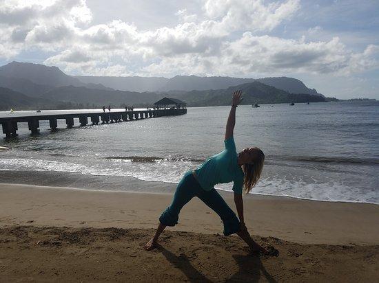 Kauai Yoga On The Beach
