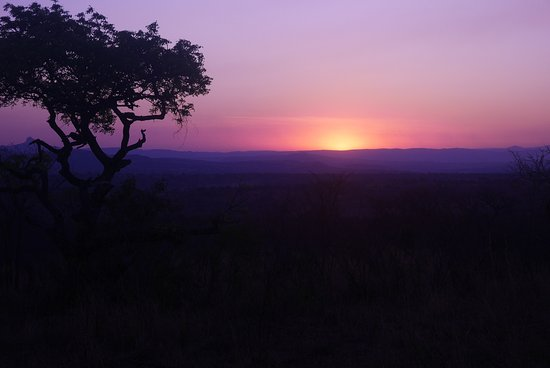 George, Sudáfrica: Sunset in Kruger