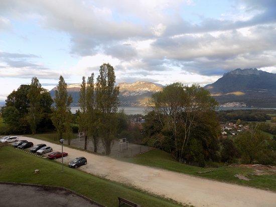 Les balcons du Lac d'Annecy: vue