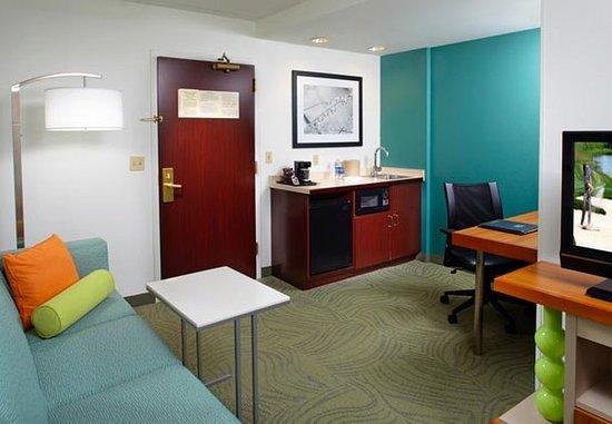 Washington, Pennsylvanie : Suite Sitting Area