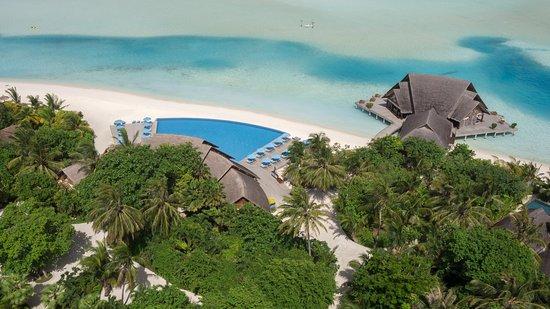 อนันตรา ดิกุ รีสอร์ท แอนด์ สปา: Pool And Restaurants Aerial