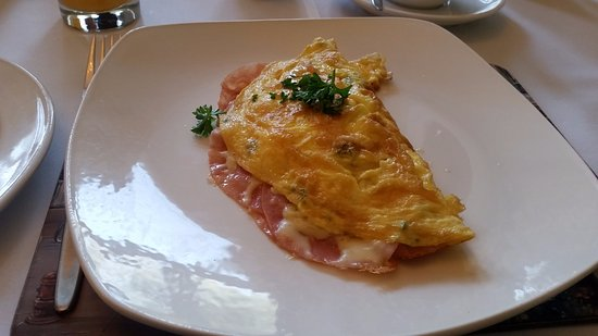 Ham & cheese omelette Gerard made for me :)