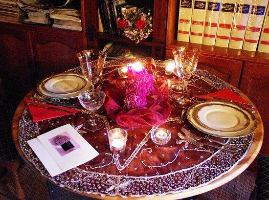 Arcidosso, İtalya: cena romantica