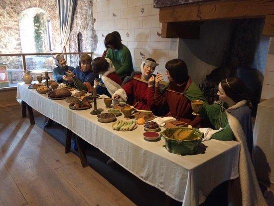 Pembroke, UK: Dinnertime
