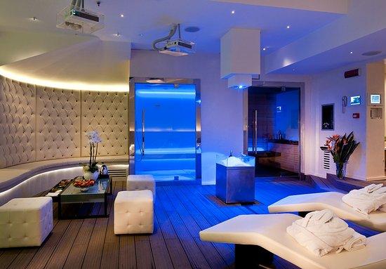 Moon spa bagno turco e sauna foto di spa at trilussa palace hotel