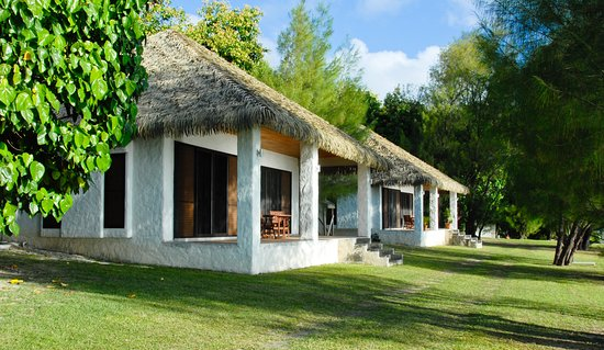 Mangaia Villas are self contained with your own verandah.