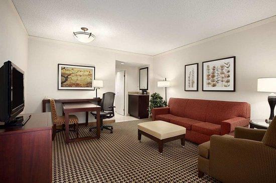 Dunwoody, Geórgia: Suite Living Room