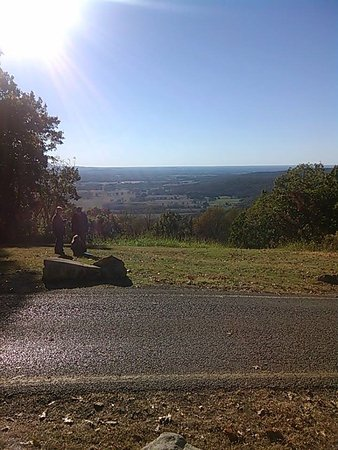 Sewanee, TN: view from the cross