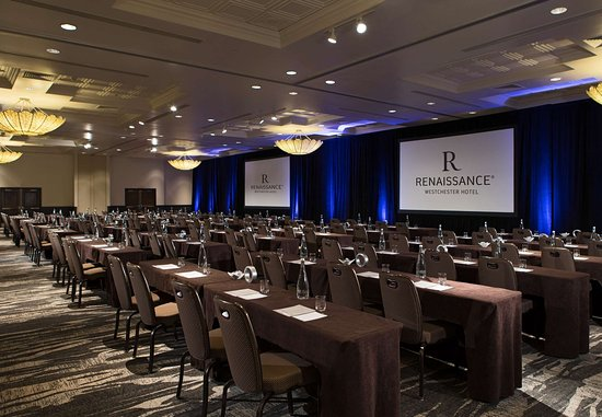 White Plains, NY: Grand Ballroom – Classroom Set Up