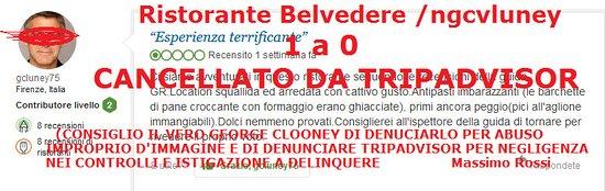 Monte San Savino, Italia: In questo caso Tripadvisor ha riconosciuto la falsità