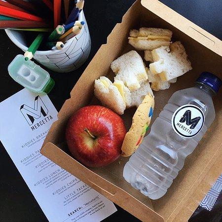 Mornington, Australia: Kids lunches