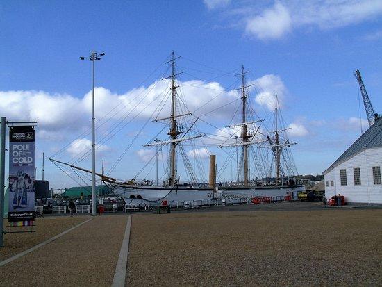 Chatham, UK: HMS Gannet. Former Sloop