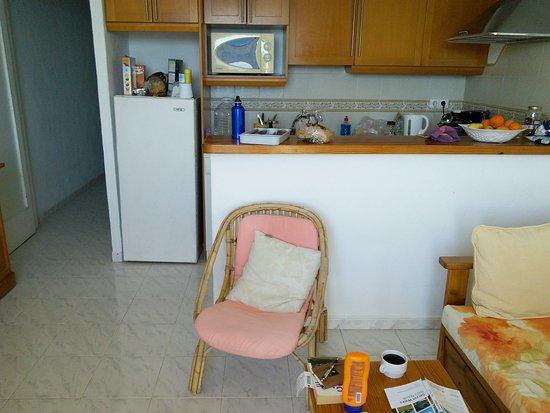 Sant Vicent de sa Cala, Spain: the kitchen area