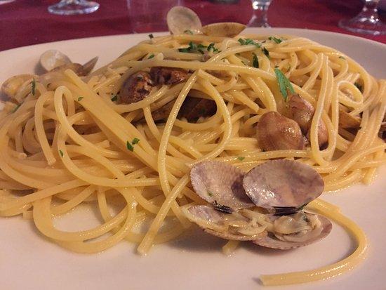Jamel Spaghetteria Ristorante Caffetteria: spaghetti alle arselle