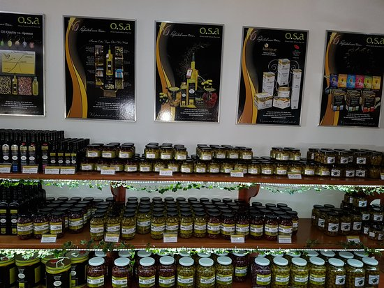 Hartswater, Afrique du Sud : Olive products at a glance