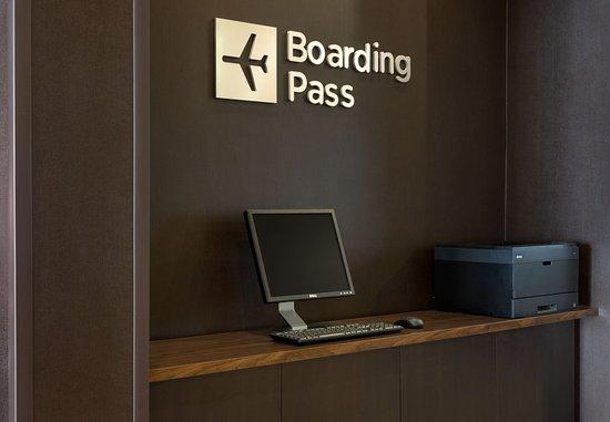 Peoria, إلينوي: Boarding Pass Station