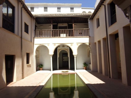 The patio seen from the southern portico picture of casa - Casa de granada ...