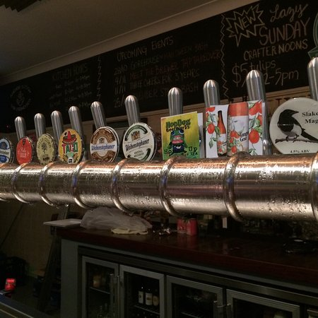 Maitland, Austrália: Spoilt for choice at The Pourhouse