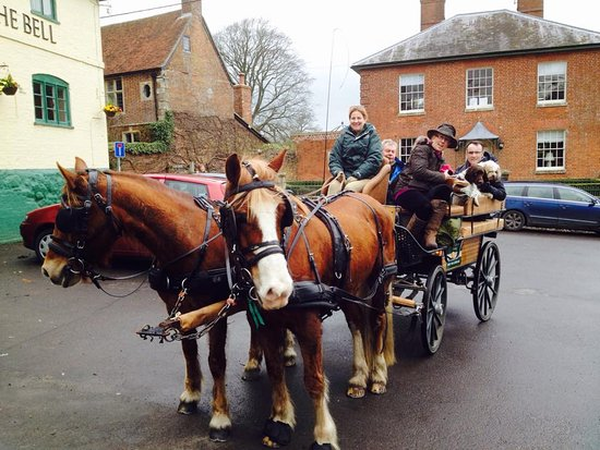 Salisbury, UK: Birthday Carriage ride