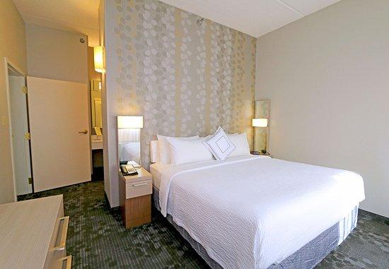 Round Rock, Τέξας: King Suite - Bedroom