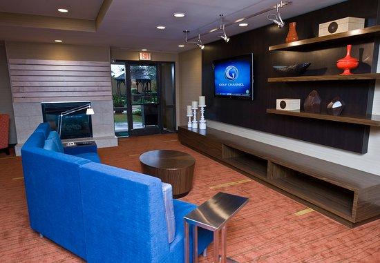 Round Rock, Τέξας: Media Lounge