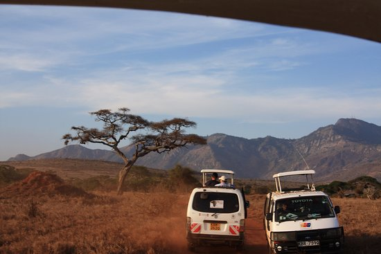 Sunrise Day Tour Safaris Kenya: Nasz środek transportu podczas Safari, 6-osobowy bus z otwieranym dachem. Każde miejsce przy okn