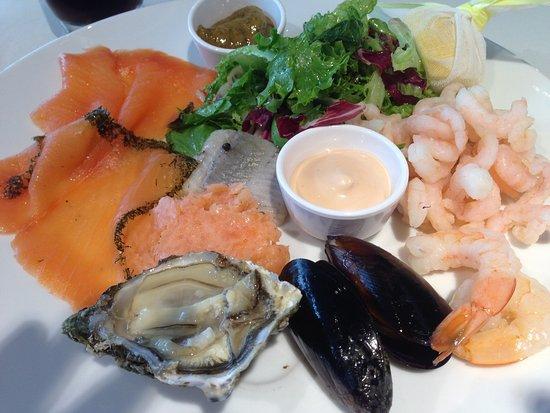Kastrup, Dinamarca: Seafood Platter