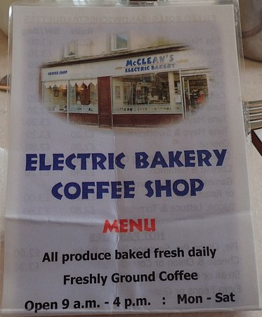 Isle of Bute, UK: Electric Bakery Coffee Shop