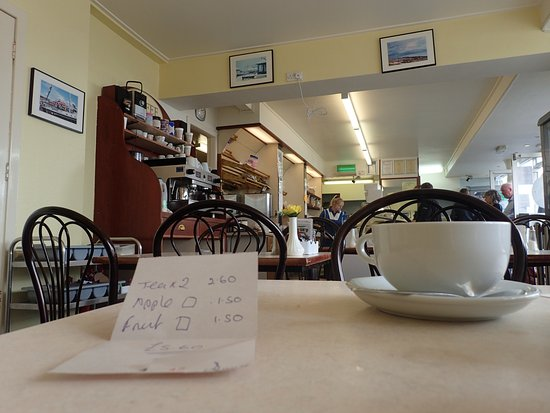 Isle of Bute, UK: Inside the cafe