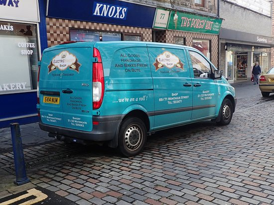 Isle of Bute, UK: Delivery Van