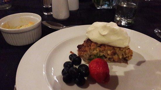 Afrique Boutique Hotel Ruimsig: Mouth watering dessert