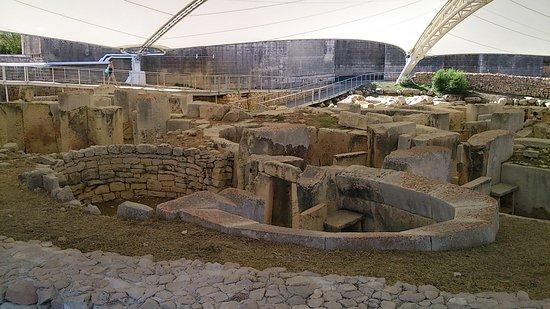 Tarxien, Malta: きれいに石で組まれています