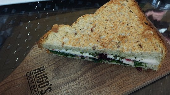 Slane, Ireland: Wonderful sandwiches made with local and organic ingredients