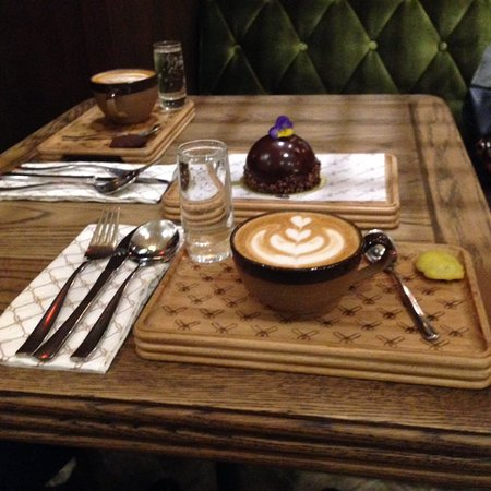 Claremont, Sydafrika: Coffees and chocolate ball
