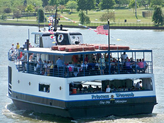 Bay City, MI: Princess Wenonah excursion boat