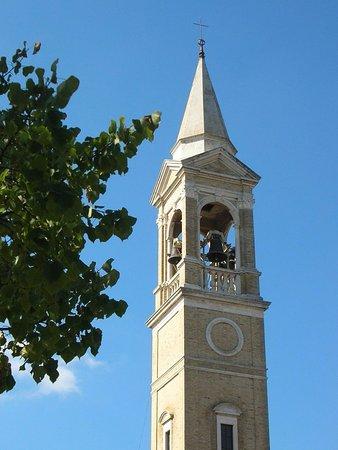 Mogliano, Italia: Campanile (particolare)