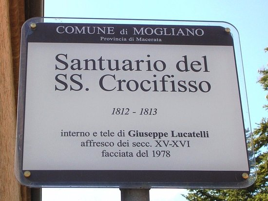 Mogliano, Italia: Insegna turistica