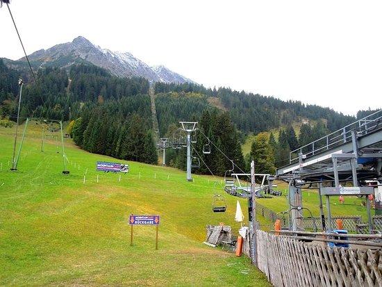Nesselwaengle, Austria: нижняя станция