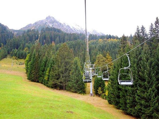 Nesselwaengle, Austria: еду наверх!