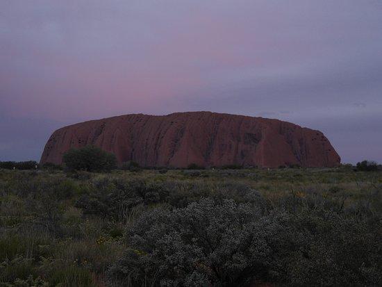 Yulara, Australia: sunset